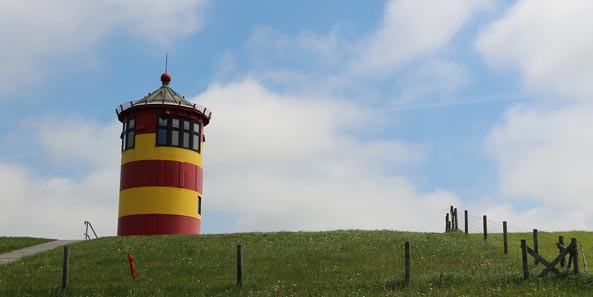 Besuchen Sie Ottos Leuchtturm in Ostfriesland